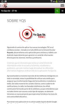 YQS CEM 37 apk screenshot