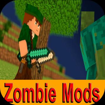 Zombie Mods for Minecraft PE poster