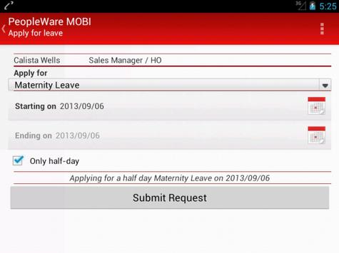 PeopleWare MOBI apk screenshot