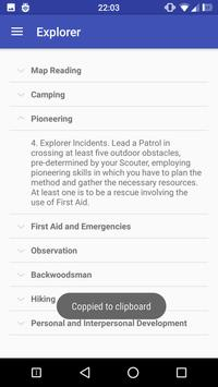 Scout Trail apk screenshot