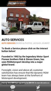 RGMotorsport apk screenshot