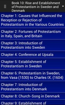 History of Protestantism poster
