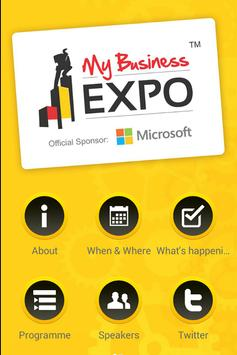 My Business Expo poster