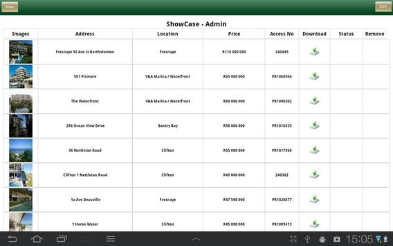 PGP ShowCase apk screenshot