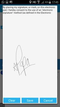 Impression Signatures apk screenshot