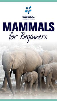 Sasol Mammals for Beginners poster