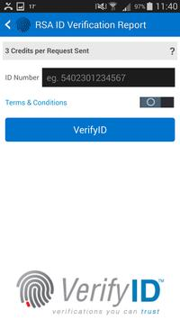 VerifyID Verification App apk screenshot
