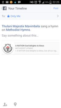 Methodist Hymns (ZA) apk screenshot