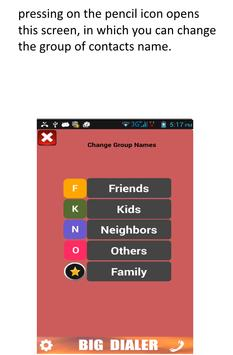 Big Phone Dialer & Contacts apk screenshot