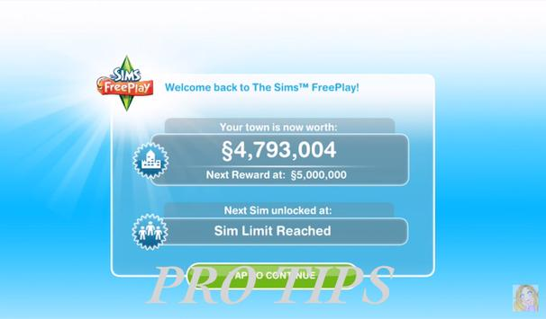 New Tips THE SIMS FREE PLAY poster