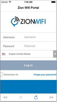 Zion WiFi Portal apk screenshot
