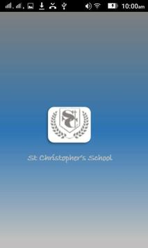 St Christopher's poster