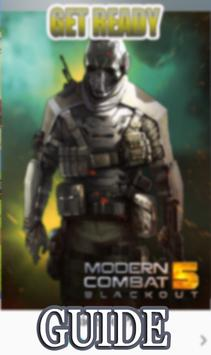 Guide Blackout Modern Combat poster