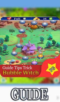 New Guide Bubble Witch saga apk screenshot