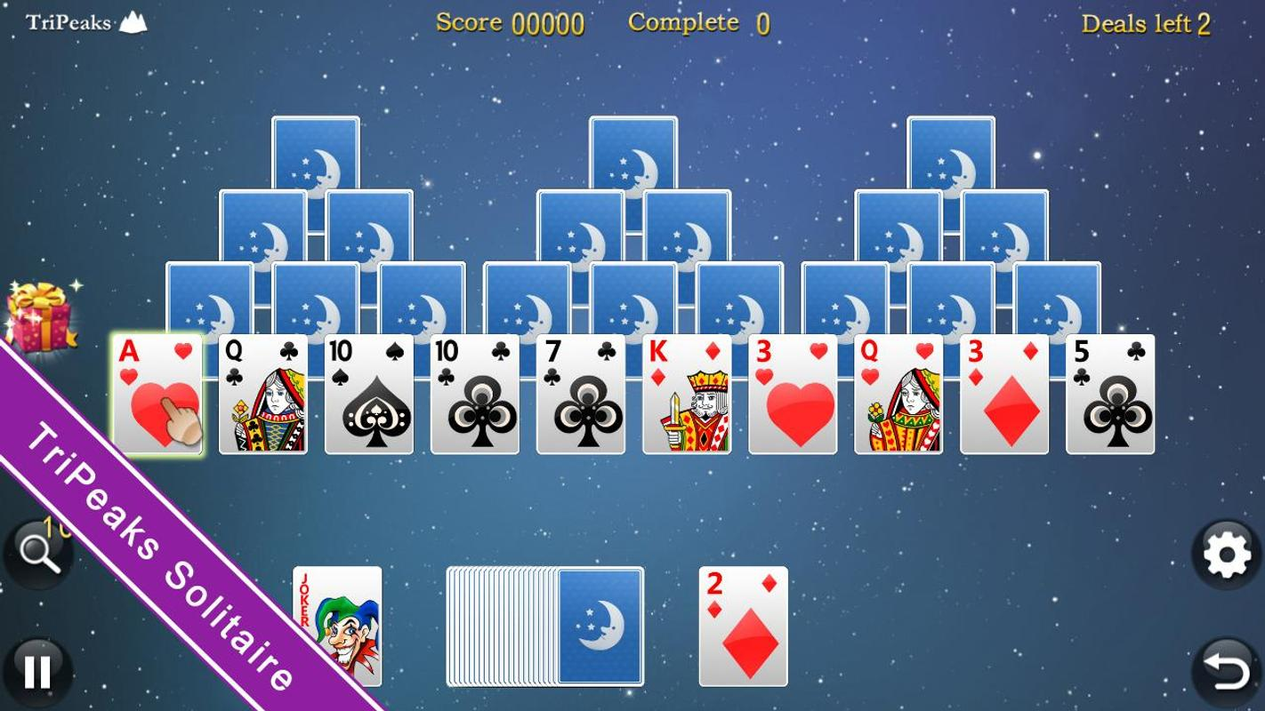 internet solitaire classic