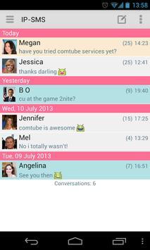 IP-SMS - cheap text messages apk screenshot