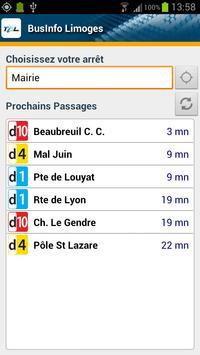 BusInfo Limoges apk screenshot