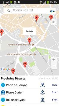 BusInfo Limoges screenshot 1