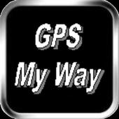 Gps My Way icon