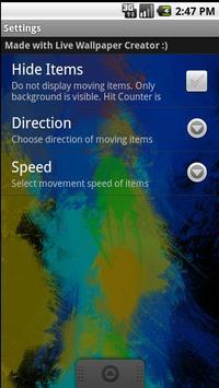 Colour Warp live wallpaper screenshot 2