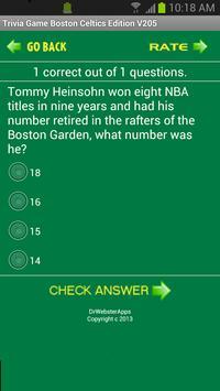 Trivia Game Boston Celtics Ed screenshot 4