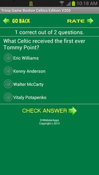 Trivia Game Boston Celtics Ed screenshot 3
