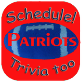 Schedule Trivia Game for New England Patriots Fans icon