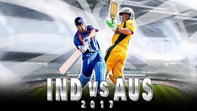IND vs AUS  2017 poster