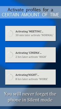 Sound Profile (+ volume scheduler) apk screenshot