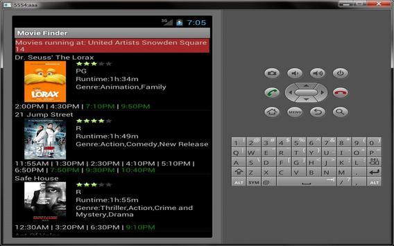 Movie Finder apk screenshot