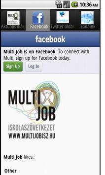 MultiJob screenshot 2
