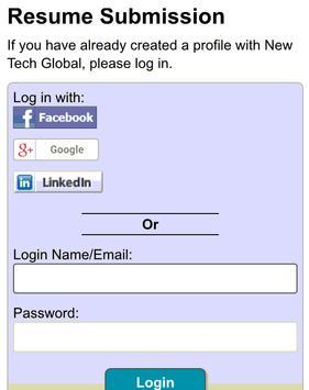 New Tech Global - Jobs apk screenshot