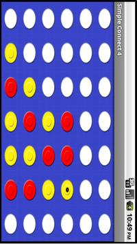 Simple Connect 4 apk screenshot