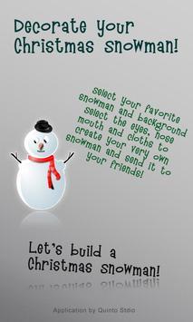 My Christmas Snowman poster