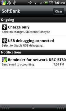 Network Based Reminder apk screenshot