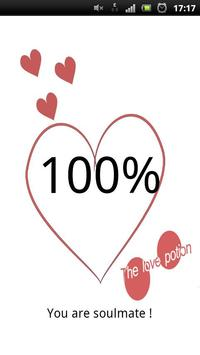 The Love Potion (love test) apk screenshot