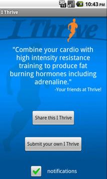 I Thrive apk screenshot