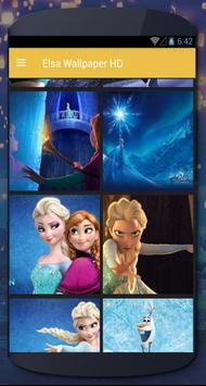 Elsa Wallpaper HD poster