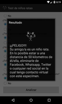 Prueba de Niño Rata screenshot 1