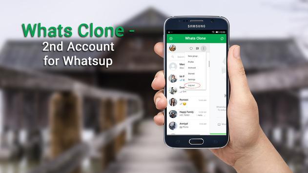 Whats Clone - 2nd Account for Whatsup apk screenshot