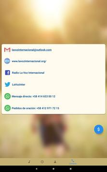 Radio La Voz screenshot 9