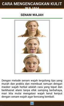 Cara Mengencangkan Kulit Wajah apk screenshot