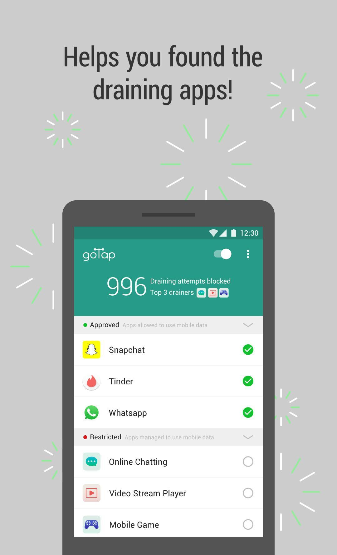 GoTap! - Save 3G/4G Data Usage for Android - APK Download