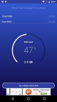 Quick Ram Booster - 2018 apk screenshot