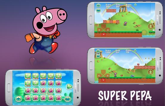 Super Pepa Pig Run poster