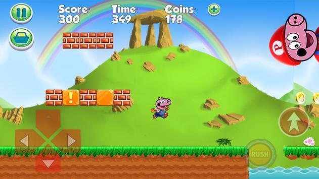 Super Pepa Pig Run screenshot 1
