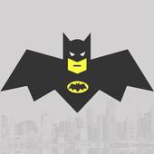 Running Batman  Run icon