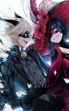 Ladybug and cat noir wallpaper screenshot 3