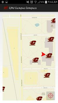 CMU Interactive Map screenshot 1