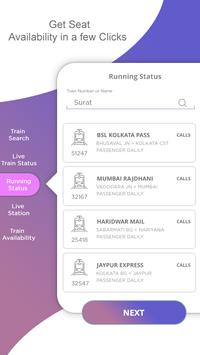 Indian Rail Info : Live Train Status & PNR Status screenshot 1